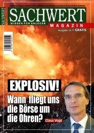 Sachwert Magazin - Ausgabe 53