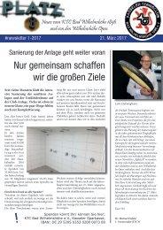 Newsletter KTCW Nummer 1-17