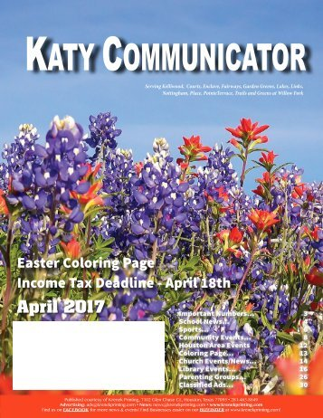 Katy Communicator April 2017