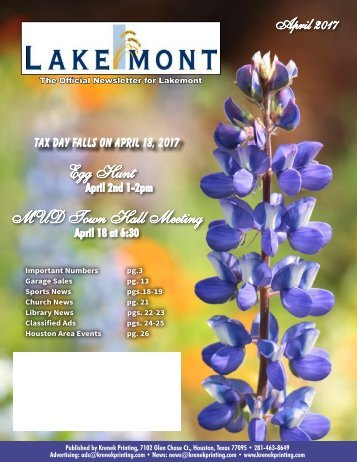 Lakemont April 2017