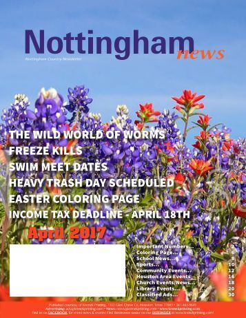 Nottingham April 2017
