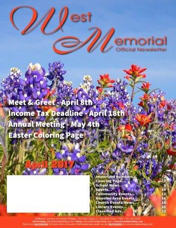 West Memorial April 2017