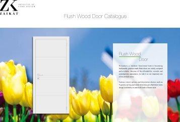 Flush Doors Catalogue - ZAIKAT
