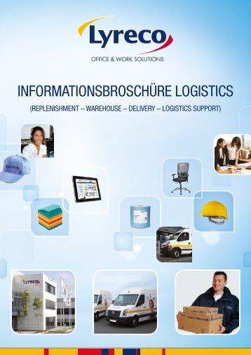 Lyreco Informationsbroschüre Logistics