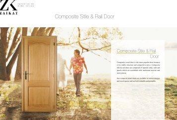 Panel Door Catalogue  - ZAIKAT