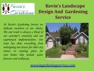 Sod Installation Oakland, CA  Kevin's Gardening Service