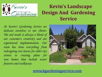 Sod Installation Oakland, CA| Kevin's Gardening Service