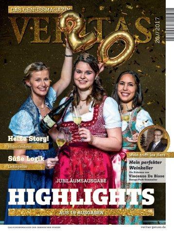 VERITAS - Das Genussmagazin / Ausgabe - 20-2017
