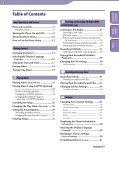 Sony NWZ-B152F - NWZ-B152F Consignes d'utilisation Anglais - Page 3