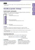Sony NWZ-B152F - NWZ-B152F Consignes d'utilisation Slovénien - Page 2