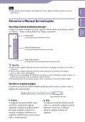 Sony NWZ-B152F - NWZ-B152F Consignes d'utilisation Portugais - Page 2