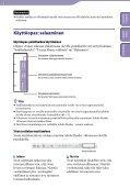 Sony NWZ-B152F - NWZ-B152F Consignes d'utilisation Finlandais - Page 2