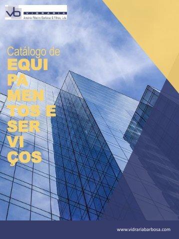 Catálogo de equipamentos e serviços - Vidraria Barbosa