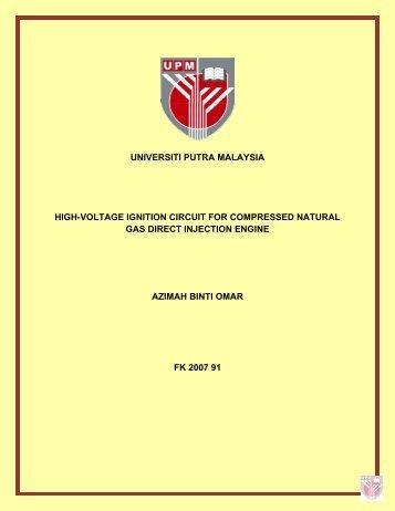 Universiti Putra Malaysia Institutional Repository