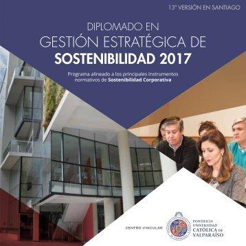 GESTIÓN ESTRATÉGICA DE SOSTENIBILIDAD 2017