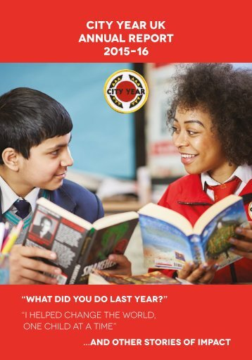 City Year UK Annual Report 2015–16