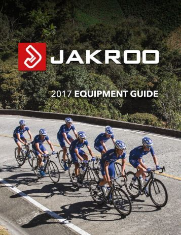 JAKROO 2017 EQUPIMENT GUIDE