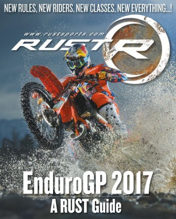 RUST magazine: EnduroGP 2017 Guide