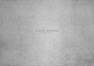 Portfolio Arq. Alexis Asensio