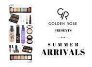 GR Summer Arrival 2017 Product Sheet