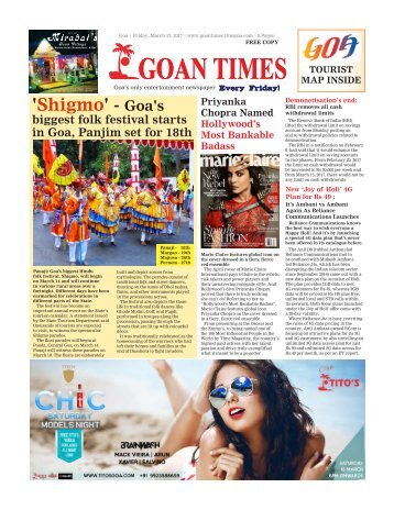 GoanTimes March 17th 2017 Edition