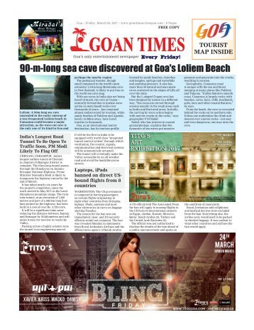 GoanTimes March 24th 2017 Edition