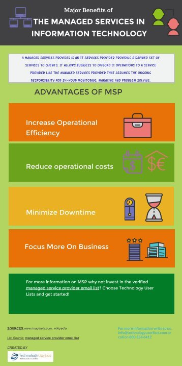 The major advantages of incorporating the managed service provider into business !!