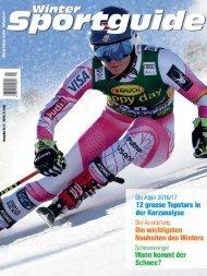 Sportguide Winter, 5/2016