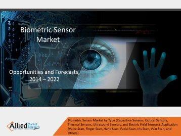 Biometric Sensor Market