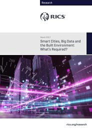 Smart Cities Big Data and the Built Environment What's Required?