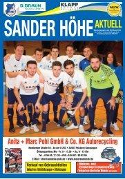Sander Höhe Aktuell Nr.5 2016/17