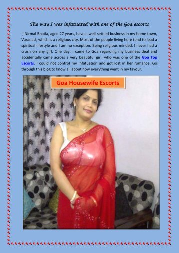 History of High profile call girl in Goa