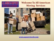 Apartments Moves in Las Vegas| All American Services