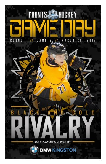 Kingston Frontenacs GameDay March 26, 2017
