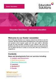 Educator_Solutions_Easter_17_Newsletter