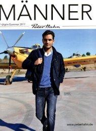 Каталог Peter Hahn Manner весна-лето 2017. Заказ одежды на www.catalogi.ru или по тел. +74955404949