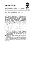 skyddsförordningen telekommunikation författningsförslag