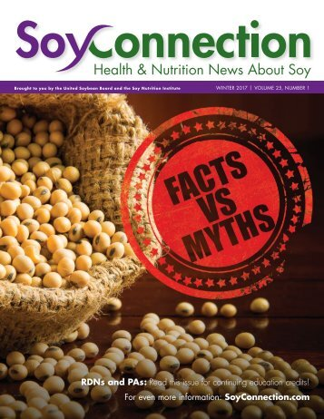 Health & Nutrition News About Soy