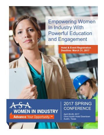 Empowering Women In Industry With Powerful Education and Engagement