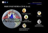 PORTAFOLIO DE SERVICIOS M&R INGENIERIA CIVIL