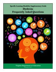 Dyslexia Frequently Asked Questions
