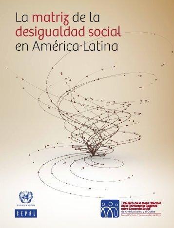La matriz de la desigualdad social en América Latina