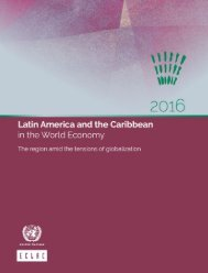 Latin America and the Caribbean in the World Economy 2016: The region amid the tensions of globalization