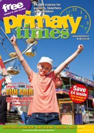 Primary Times Leicestershire & Rutland issue 96 Easter 2017