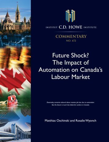 Future Shock? The Impact of Automation on Canada's Labour Market