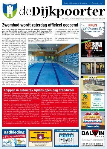 De Dijkpoorter week 38 - 19-09-2012