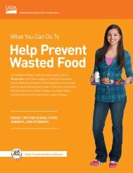 Help Prevent Wasted Food
