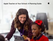 Apple Teacher at Your School A Planning Guide