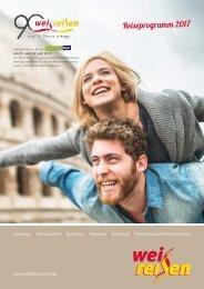 Weis Reisen Katalog 2017