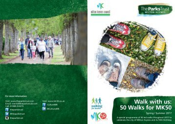 Walk with us 50 Walks for MK50